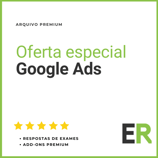Oferta especial Google Ads Visualizacao 4