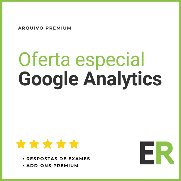 Oferta especial Google Analytics